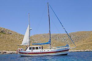 Impresionante excursión a vela en Mallorca en Pollença en el norte de la isla