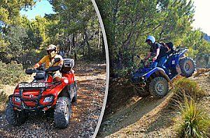 Quad tour Mallorca en la vía C710 - Salidas desde Andratx