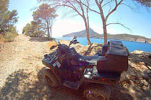 Tour en quad & snorkel! - Desde Andratx el suroeste de Mallorca