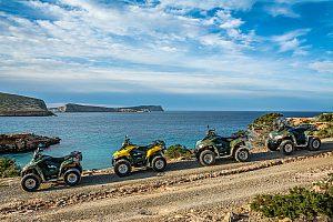 Emocionante tour en quad en Ibiza desde San Antonio en el oeste de la isla