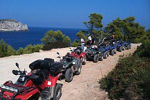 Quad y bautismo de buceo! Salida desde Andratx, Mallorca