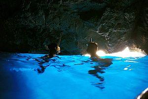 Blaue Grotte auf Mallorca