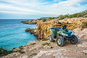 Quad rental in Ibiza - Alquiler de quads en Sant Antonio