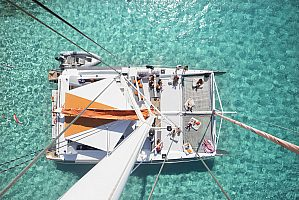 Tour Katamaran Palma Hafen