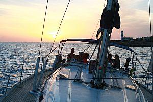 Excursion a vela en Mallorca