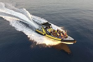 Jet Boot Tour im Südwesten von Mallorca