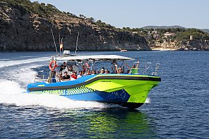 Speedboot fahren auf Mallorca