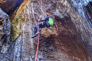 Wildes Canyoning auf Teneriffa
