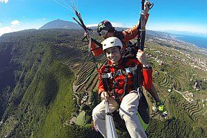 Paragliding Teneriffa Norden der Insel