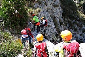 Trocken-Canyoning auf Mallorca