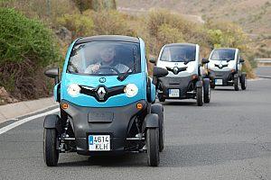 Twizy eco tour en coche eléctrico en Gran Canaria cerca de Maspalomas