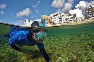 Snorkeling en Gran Canaria - tour guiado de día o de noche en el mar de Las Palmas de Gran Canaria