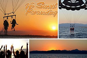 Parasailing in Arenal