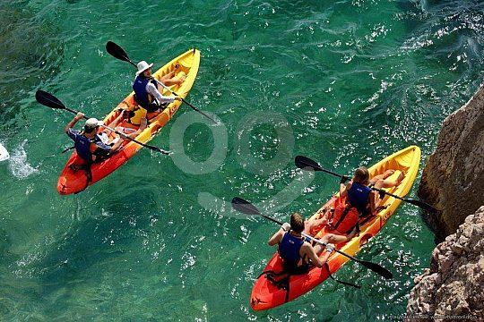Kayaking on Lanzarote