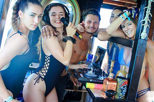 Partyboot Mallorca Selfie