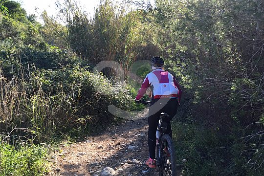 Costa Blanca tour Dénia mountain bike