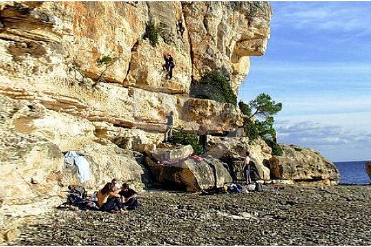 Stop off trek in Mallorca