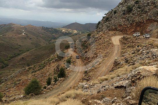 Jeep Safari in the mountains of Crete