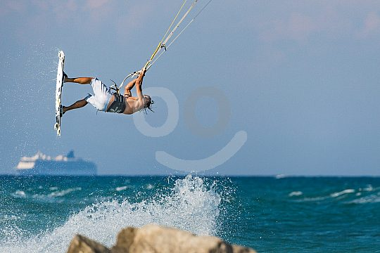 Jumps in Kiting in Greece