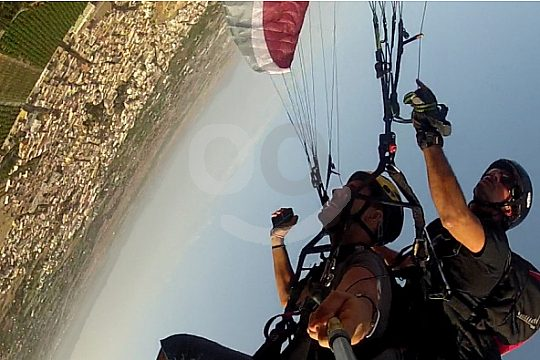 Murcia at the action paragliding