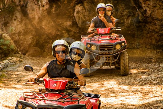 adventurous quad tour from Rethymno