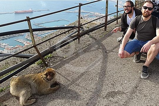 from Cádiz private tour to Gibraltar