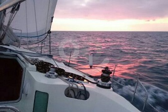 sunset sailing trip from Aguilas