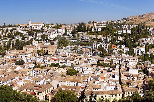 guided city tour of Granada