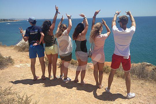tuk tuk tour on the coast of Albufeira