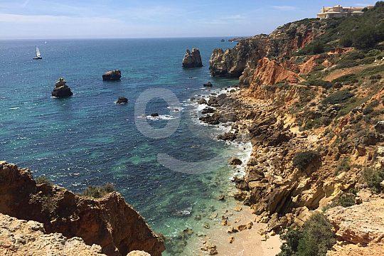 Altantic coast Albufeira Portugal