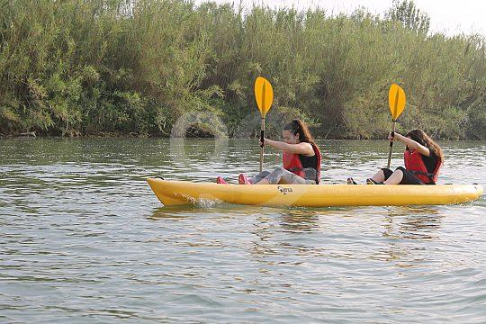 Kayak tour in Delta del Ebro