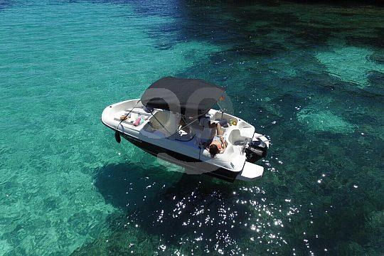 Rent a license free boat in Santa Ponsa