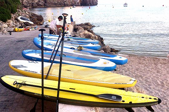 SUP (Stand Up Paddle) rental in Menorca