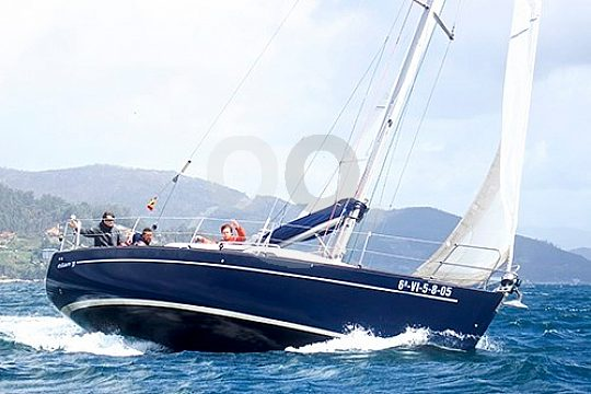 sailing boat in Vigo
