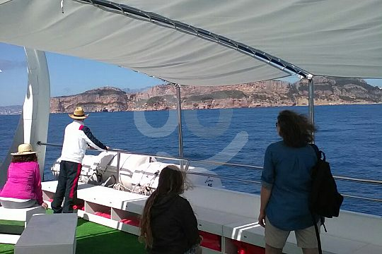 From port to port by water taxi Calpe to Altea