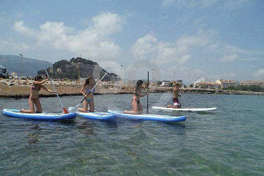 Altea Paddle Surf course