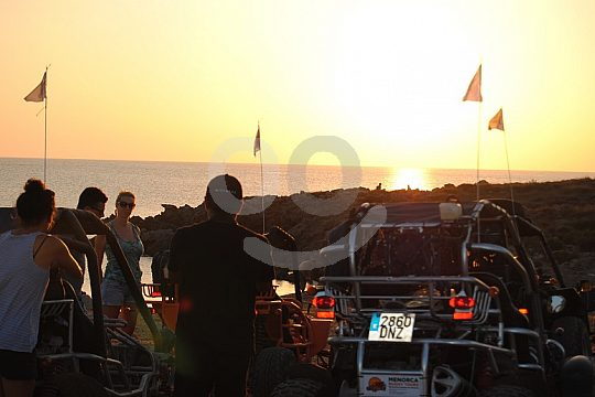 Minorca buggy tour to the sunset