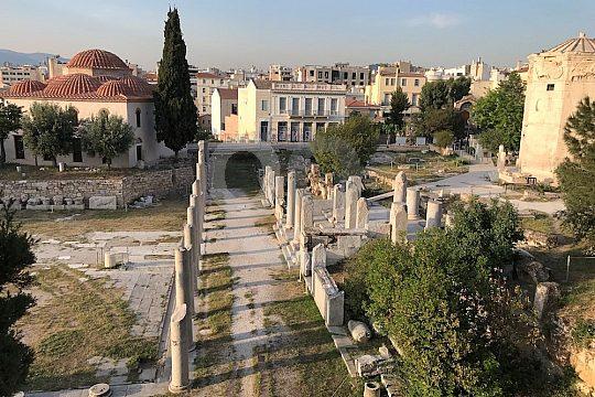 through the city of antiquity on e-bikes