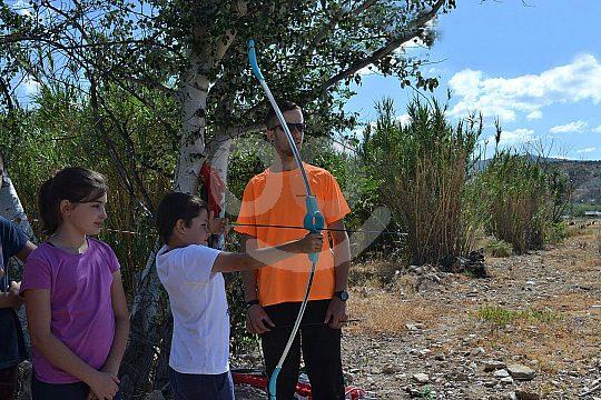 near Malaga archery
