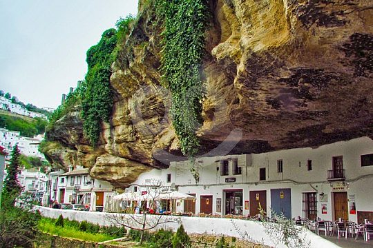 explore Setenil de las Bodegas at a trip in Andalusia