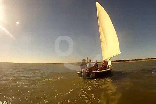 sailing course in Doñana Natural Park