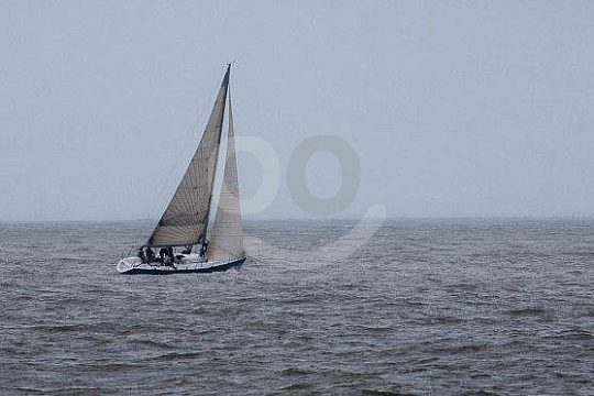 set the sails at the Basque coast