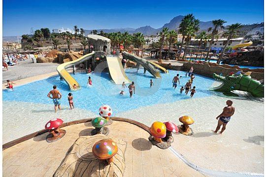 Tenerife water park Aqualand children