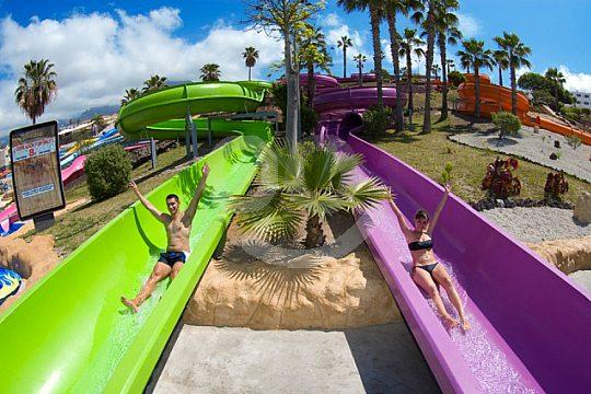 Aquapark Costa Adeje slide for everyone Tenerife