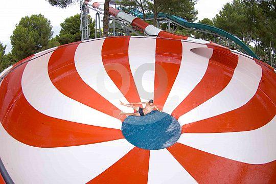 slide in Aqualand Arenal