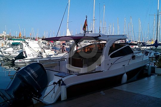rent exclusively a boat in Santa Pola