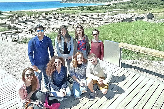 tour with visit of the Archaeological Park in Bolonia
