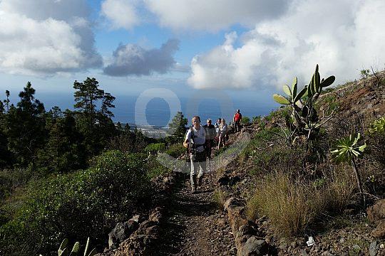 Tenerife hiking to Aripe