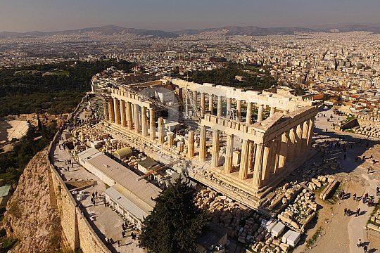Greek Mythology on the Acropolis Tour