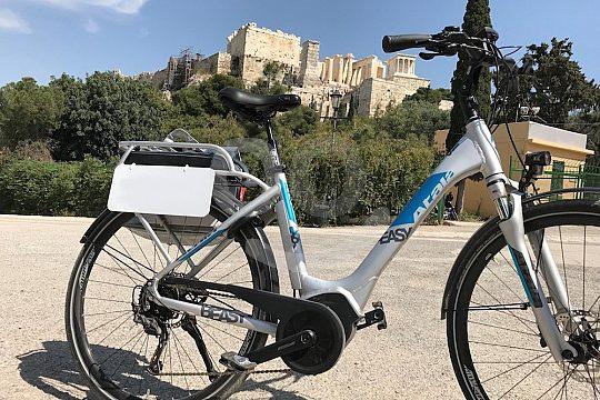 """""""Acropolis & Old Town"""" e-bike tour Athens"""